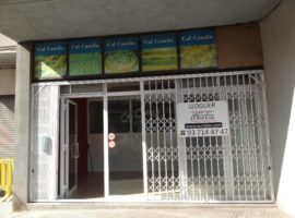 LLOGUER Local Comercial
